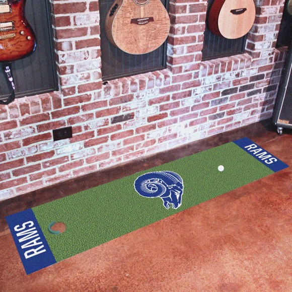 Picture of Los Angeles Rams Putting Green Mat - Vintage