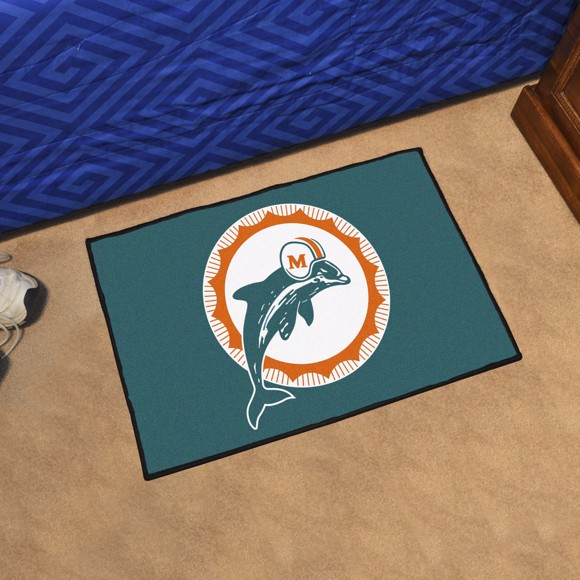 Picture of Miami Dolphins Starter Mat - Vintage
