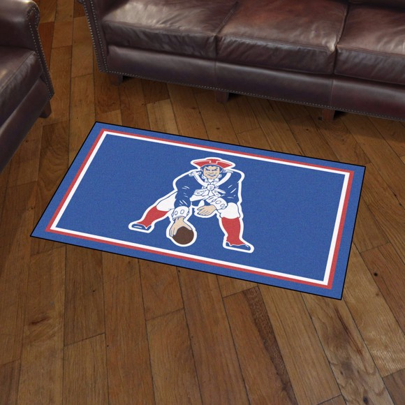 Picture of New England Patriots 3x5 Rug - Vintage