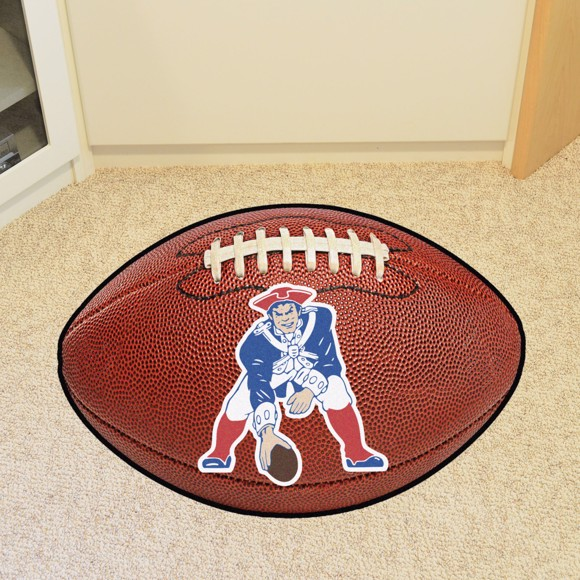 Picture of New England Patriots Football Mat - Vintage