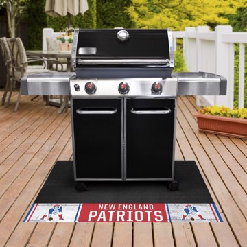 Picture of New England Patriots Grill Mat - Vintage