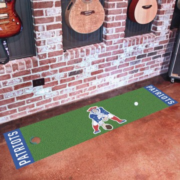 Picture of New England Patriots Putting Green Mat - Vintage