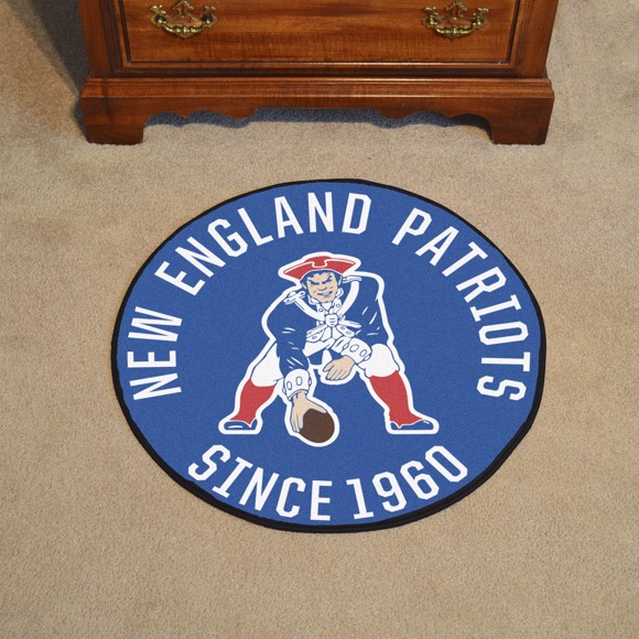 Picture of New England Patriots Roundel Mat - Vintage