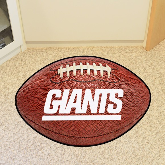 Picture of New York Giants Football Mat - Vintage