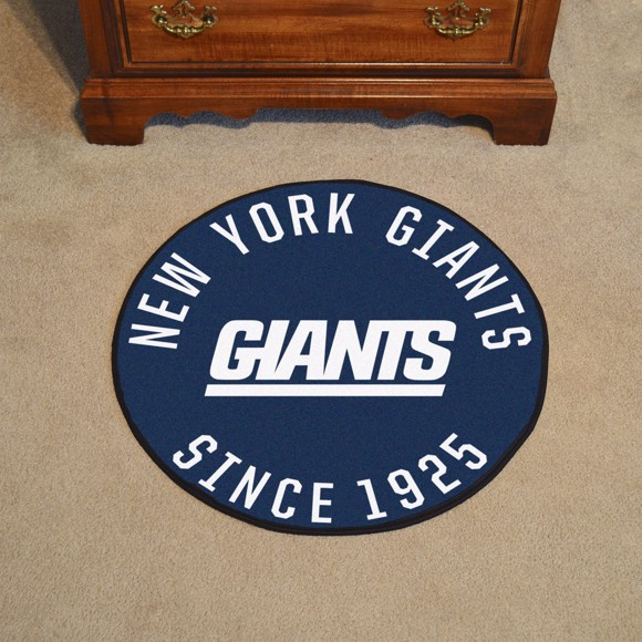 Picture of New York Giants Roundel Mat - Vintage