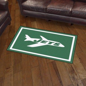 Picture of New York Jets 3x5 Rug - Vintage