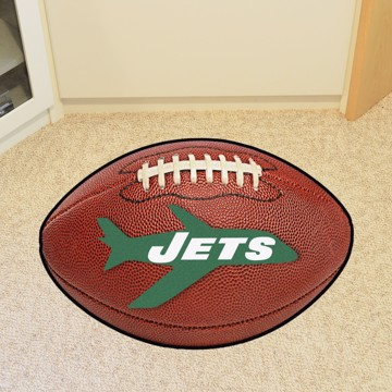 Picture of New York Jets Football Mat - Vintage