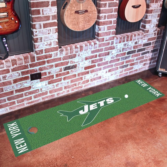 Picture of New York Jets Putting Green Mat - Vintage