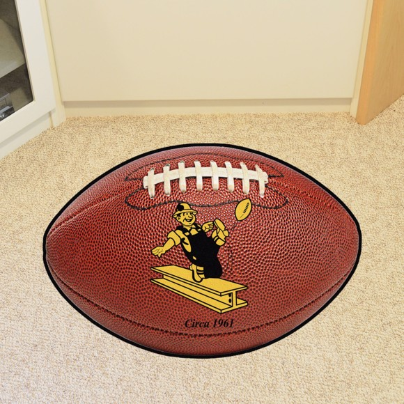 Picture of Pittsburgh Steelers Football Mat - Vintage