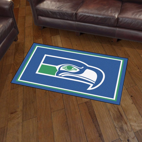 Picture of Seattle Seahawks 3x5 Rug - Vintage