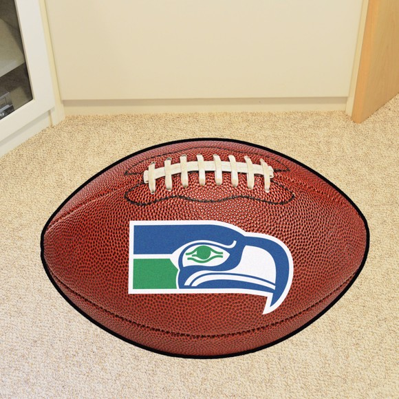Picture of Seattle Seahawks Football Mat - Vintage