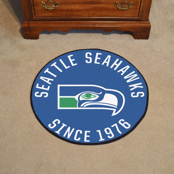 Picture of Seattle Seahawks Roundel Mat - Vintage
