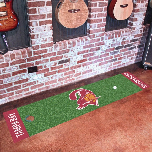 Picture of Tampa Bay Buccaneers Putting Green Mat - Vintage