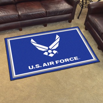 Picture of U.S. Air Force 4'x6' Plush Rug