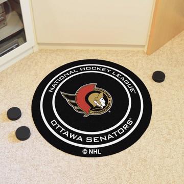Picture of NHL - Ottawa Senators Puck Mat