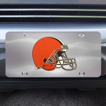 Picture of Cleveland Browns Diecast License Plate