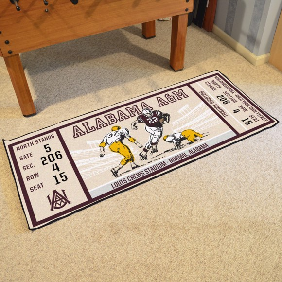 Picture of Alabama A&M Ticket Runner