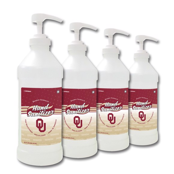 Picture of Oklahoma Sooners 32 oz. Hand Sanitizer