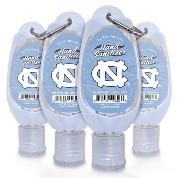 Picture of North Carolina 1.69 Travel Keychain Sanitizer