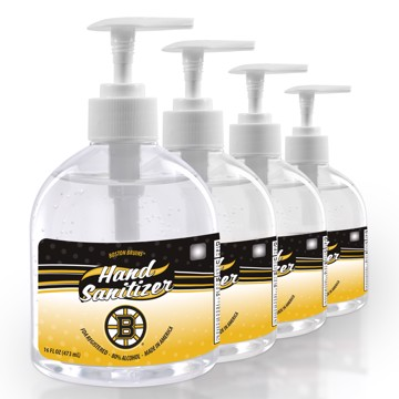 Picture of Boston Bruins 16 oz. Hand Sanitizer