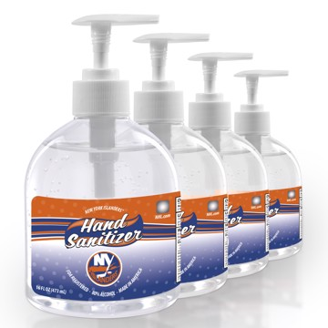 Picture of New York Islanders 16 oz. Hand Sanitizer