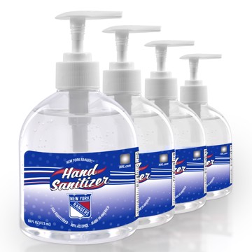 Picture of New York Rangers 16 oz. Hand Sanitizer