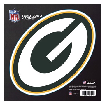 """Picture of Green Bay Packers Large Team Logo Magnet 10"""""""