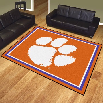 Picture of Clemson 8'x10' Plush Rug