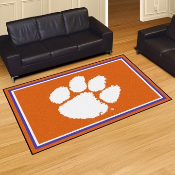Picture of Clemson 5'x8' Plush Rug