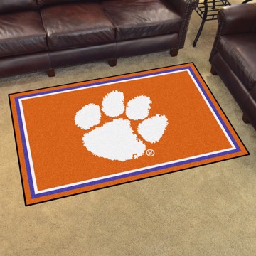 Picture of Clemson 4'x6' Plush Rug