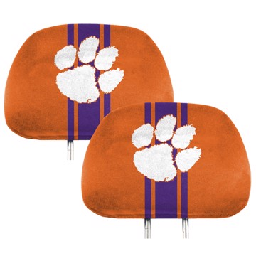 Picture of Clemson Printed Headrest Cover