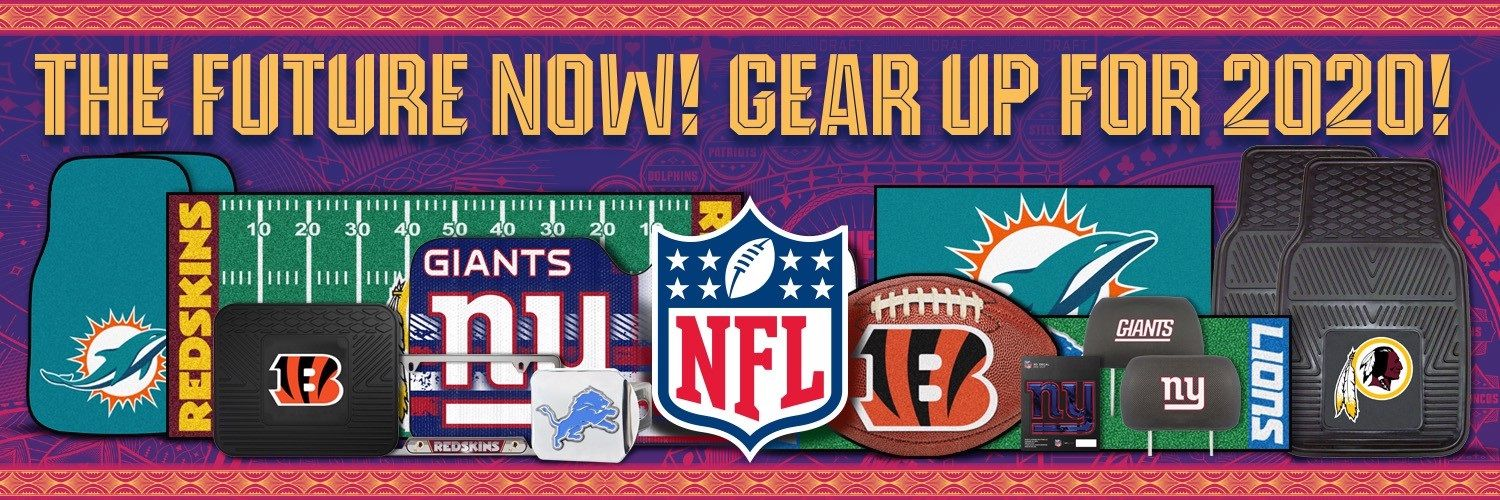 NFL - Gear up for 2020 Banner